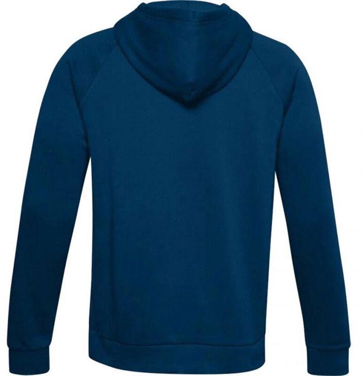 Under Armour Rival Fleece Big Logo Hoodie 1357093-581 Blue XL