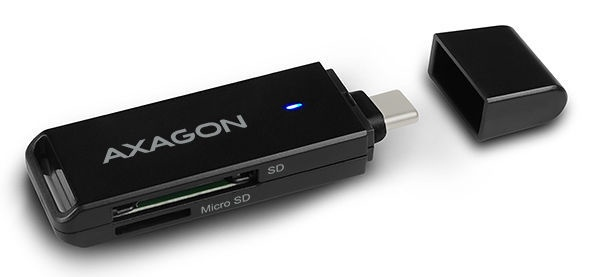 Картридер Axagon CRE-S2C USB-C 3.1 External Reader