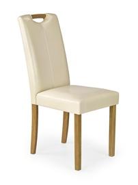 Стул для столовой Halmar Caro Beech/Creamy, 1 шт.