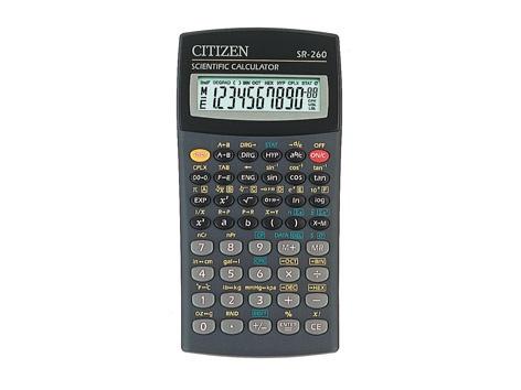 Kalkulaator Citizen SR-260N
