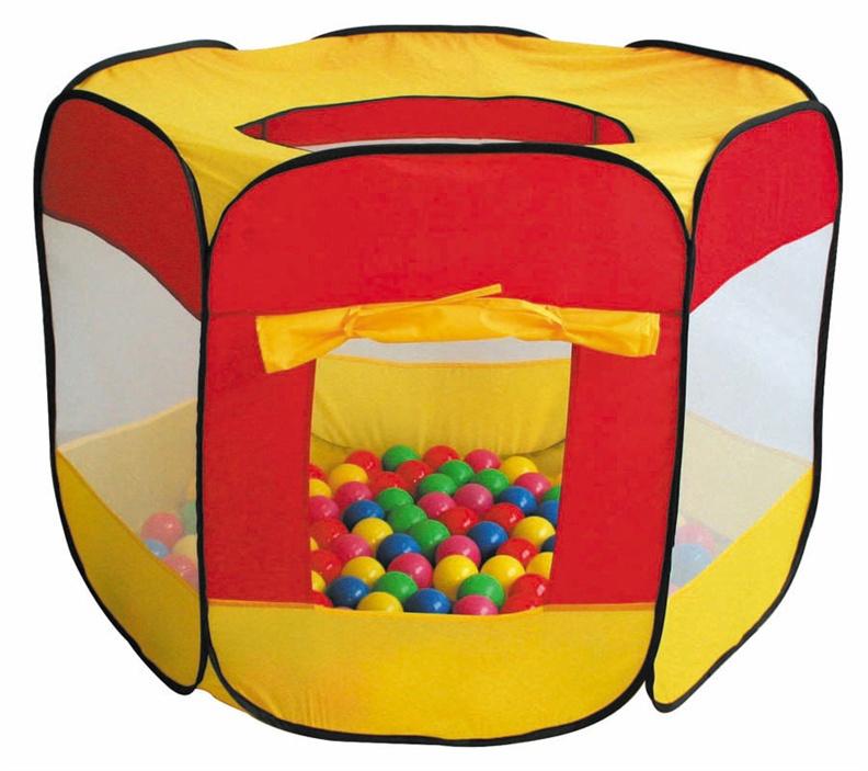 Vaikiška palapinė-žaidimų centras su kamuoliukais iPlay 8600B