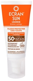 Losjons saules aizsardzībai Ecran Sun Protective Fluid Face & Neck SPF50, 50 ml