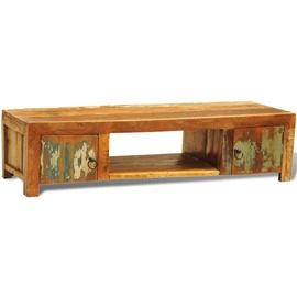 TV galds VLX Vintage Antique-style, brūna, 1200 mm x 400 mm x 300 mm