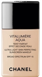 Chanel Vitalumiere Aqua Fluid Ultra-Light Makeup SPF15 30ml 42