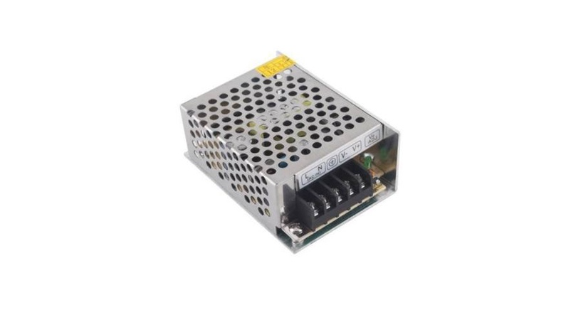 Adapter Optonica 60w 12v 5a metall ip21