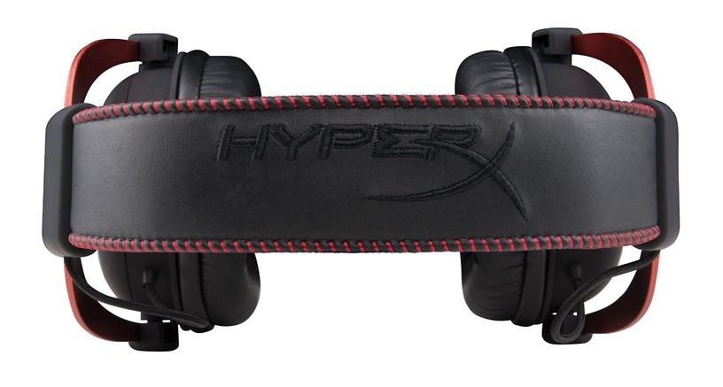 Žaidimų ausinės Kingston HyperX Cloud II Pro Red