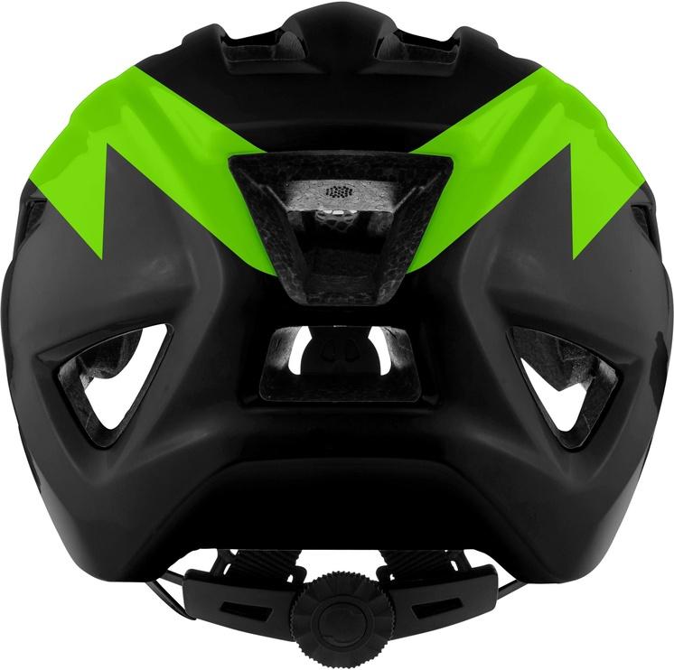 Шлем Alpina Pico, черный/зеленый, 500 - 550 мм