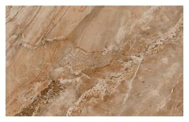 Keraminės sienų plytelės Aura MARRON, 25 x 50 cm