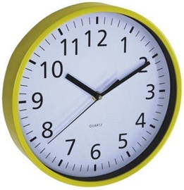 Asi Collection Wall Clock Ø 25,5cm Yellow