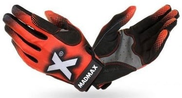Mad Max Crossfit Gloves Black/Red MXG101 M