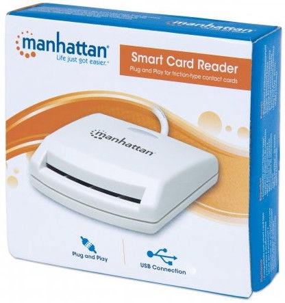 Manhattan 172844 Smart Card Reader External Contact Reader