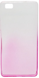 Mocco Gradient Color Back Case For Samsung Galaxy A5 A510 Transparent/Rose