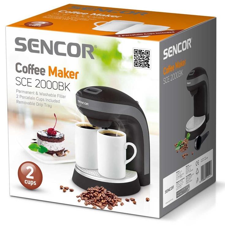 Kavos aparatas Sencor SCE 2000BK