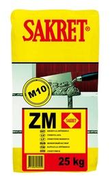Cementinis mišinys Sakret ZM, 25 kg