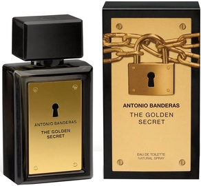 Tualetes ūdens Antonio Banderas The Golden Secret 100ml EDT