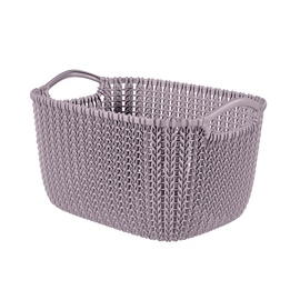 Krepšelis Curver Knit 240375, 8 l., plastikas