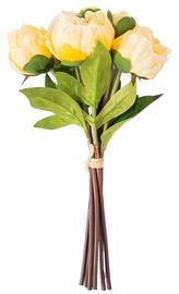 Home4you In Garden Peony Bunch Artificial Flower H30cm Yellow