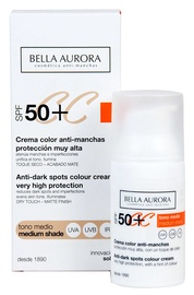 Bella Aurora CC Cream SPF50+ 30ml Medium Shade