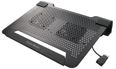 Klēpjdatoru dzesētājs Cooler Master NotePal U2 PLUS Cooling Pad R9-NBC-U2PK-GP