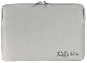 "Tucano Second Skin Elements for MacBook Air 11"" Silver"