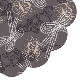 Paw Decor Collection Lacy Bows 32cm