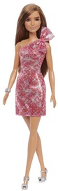 Mattel Barbie Glitz Outfits Brunette With Red Dress Doll GRB33