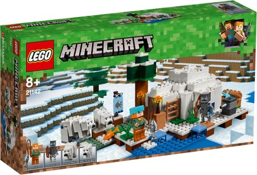 Konstruktorius LEGO Minecraft The Polar Igloo 21142