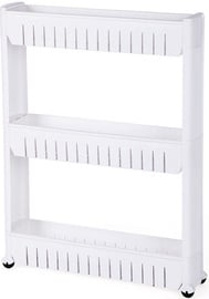 Songmics Slide Out Storage Tower 54.5x12.7x72.5cm
