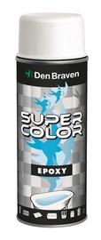 Aerosola krāsa Den Braven Epoxy 696534, 400ml, balta matēta