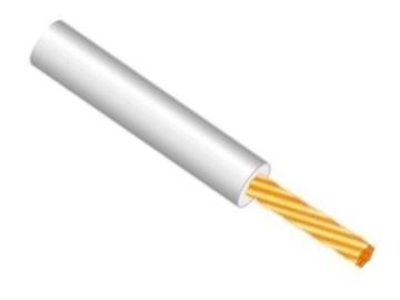 Elektros instaliacijos kabelis Lietkabelis PV-3/H05V-K, 1 x 0,75 mm²
