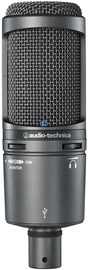 Audio-Technica AT2020USB+ Black Cardioid Condenser USB Microphone