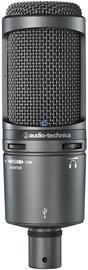 Audio-Technica AT2020USB+ Black Cardioid Condenser USB Microphone