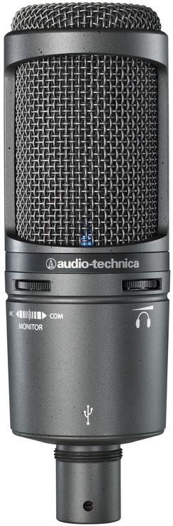 Микрофон Audio-Technica AT2020USB+ Black Cardioid Condenser USB Microphone