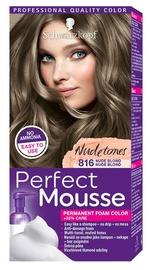 Matu krāsa Schwarzkopf Perfect Mousse Permanent Foam Color N816 Nude Blond