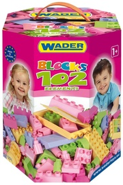 Wader Blocks For A Girls In Box 102pcs 41291