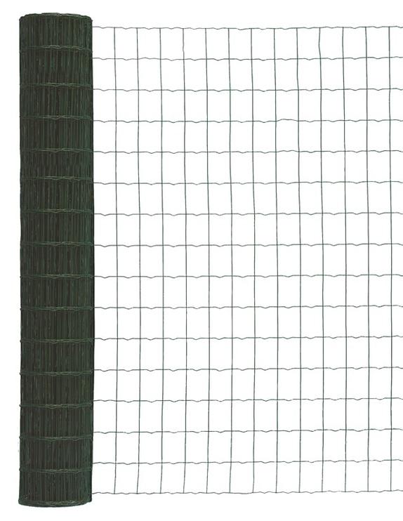 Suvirintas žalias tinklas 2.1 x 100 x 75 x 1000 mm, 25m