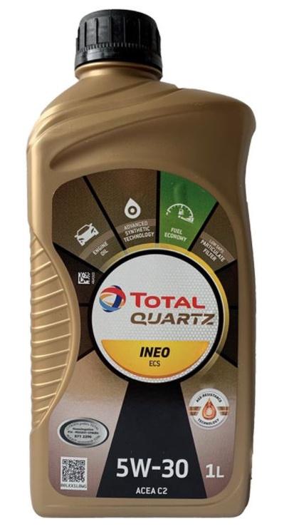 Машинное масло Total, синтетический, для легкового автомобиля, 1 л