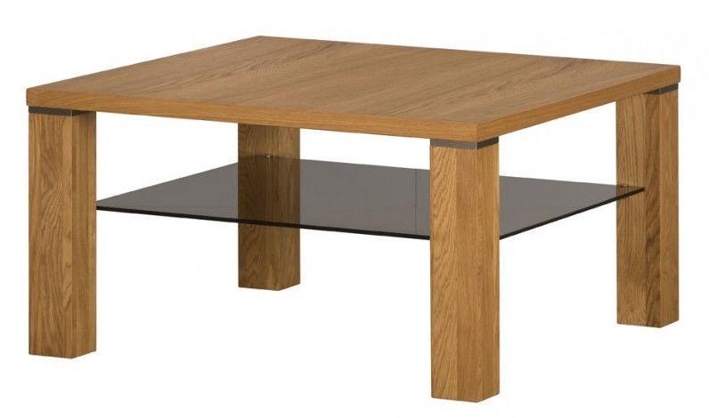 Kafijas galdiņš Signal Meble Torino 39 Brown, 900x900x480 mm