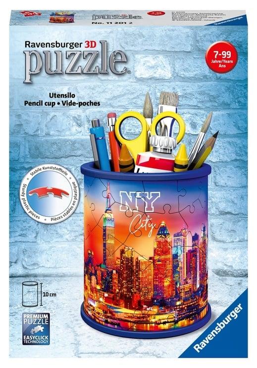 3D puzle Ravensburger Utensilo NY City Pencil Cup 11201, 54 gab.