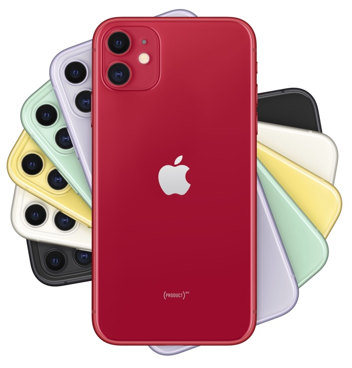 Smartphone Iphone 11 64GB Red