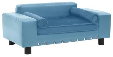 Кровать для животных VLX, голубой, 430x810 мм