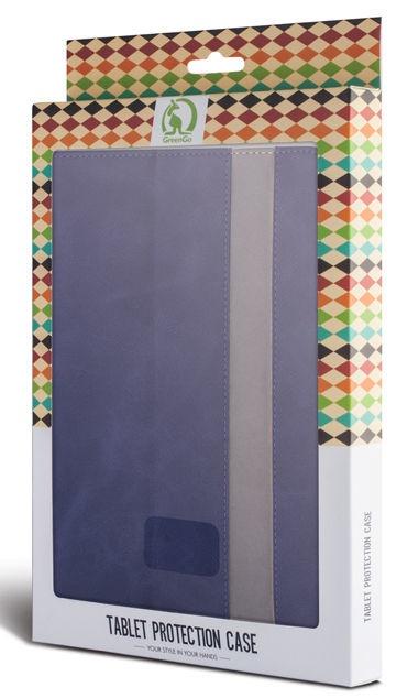 GreenGo Universal Fantasia Case For Tablet 9-10'' Dark Blue
