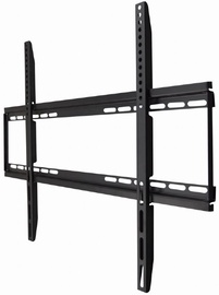 Televizoriaus laikiklis Gembird WM-75F-01 TV Wall Mount Fixed For 40-75'' Black