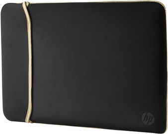 HP 14 Neoprene Reversible Sleeve Black Gold