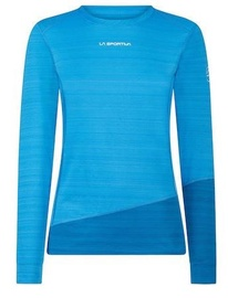 La Sportiva Woman Long Sleeve Top Dash Azure/Neptune S