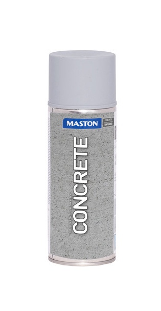 KRĀSA PŪŠAMĀ CONCRETE EFFECT 400ML (MASTON)