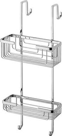 Gedy Wire Double Hanging Shower Basket Chrome 5683-13