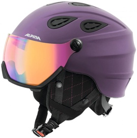 Alpina Grap Visor HM Purple 57-61
