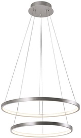 Verners Circle Ceiling Lamp 42W LED Silver