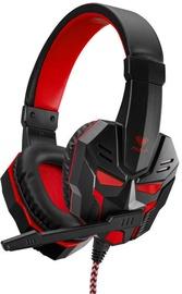 Žaidimų ausinės Aula Prime Basic w/ Mic Red